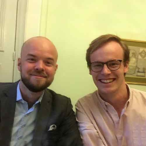 Marcus Bäckström och Niels Groenewegen